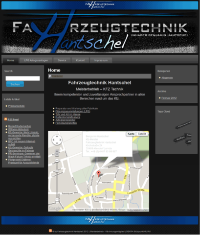 Fahrzeugtechnik Hantschel GmbH 2012