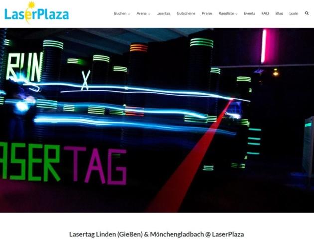 Lasertag von LaserPlaza Linden (Gießen) und Mönchengladbach seit 2017