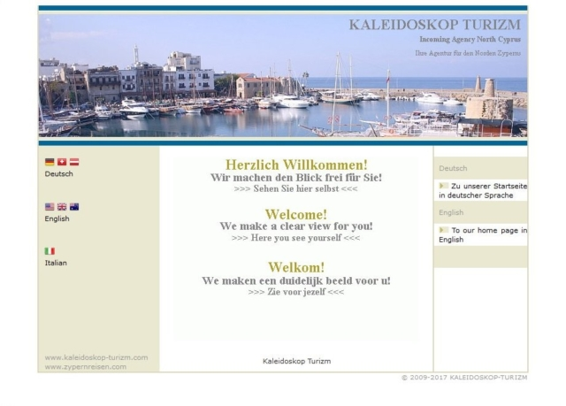 Zypernreisen Homepage bis 2018