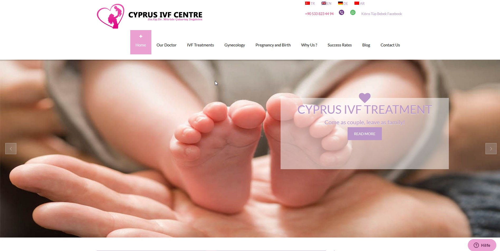 Cyprus IVF Treatment Centre Specialists in IVF treatment abroad in North Cyprus